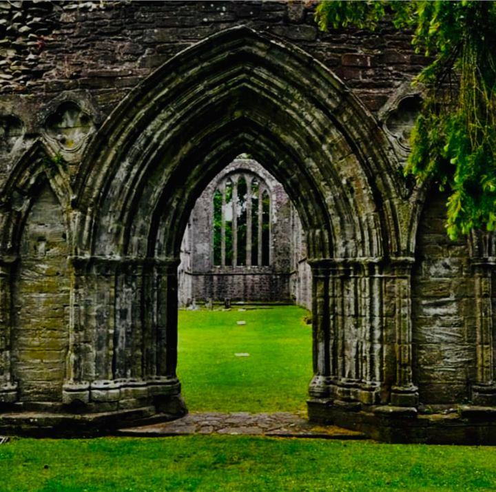 Inchmahome Priory volta gotica