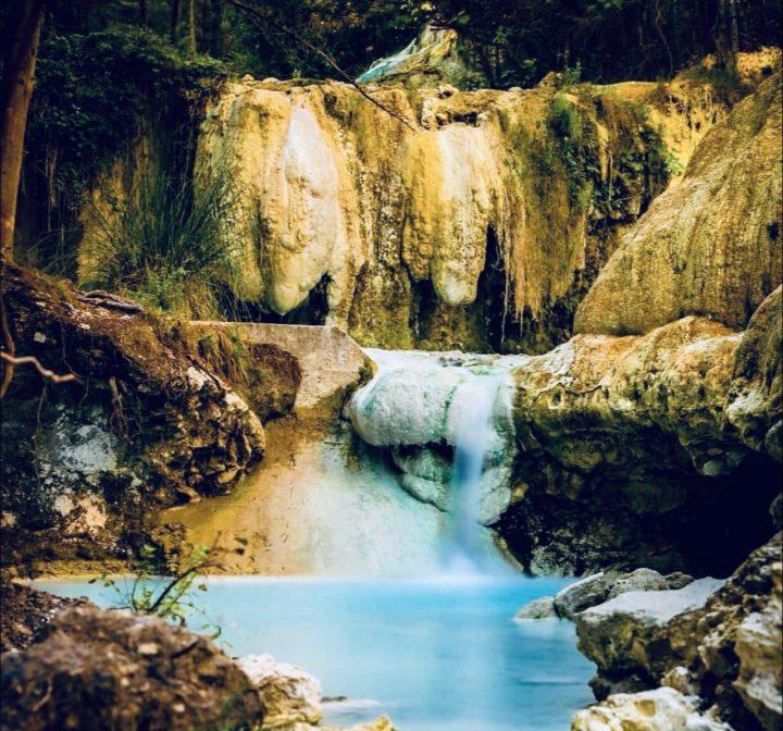 Borghi della Val d'Orcia: Bagni San Filippo