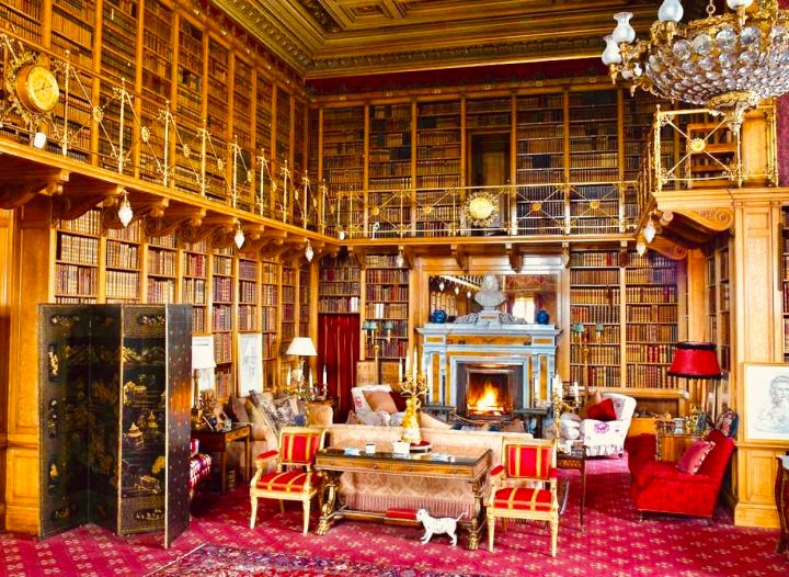 Alnwick Castle, The library