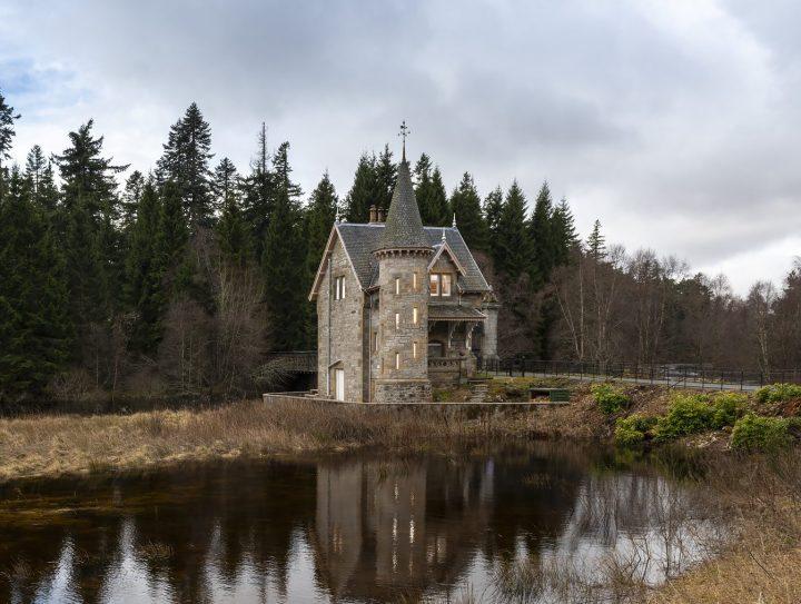 Ardverikie Estate, uno dei cottage a disposizione dei viaggiatori