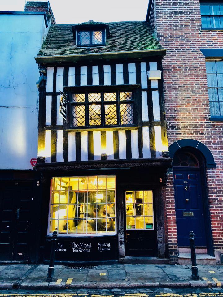 Canterbury The Moat Tea Room