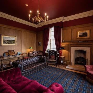 Glenapp Castle Living room