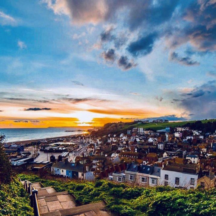 Hastings dalla collina