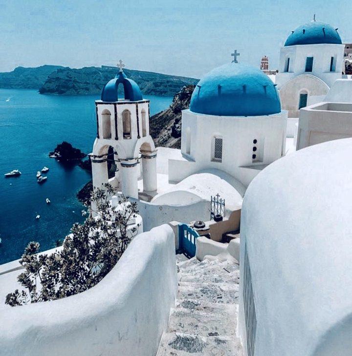 Oia Santorini, Grecia