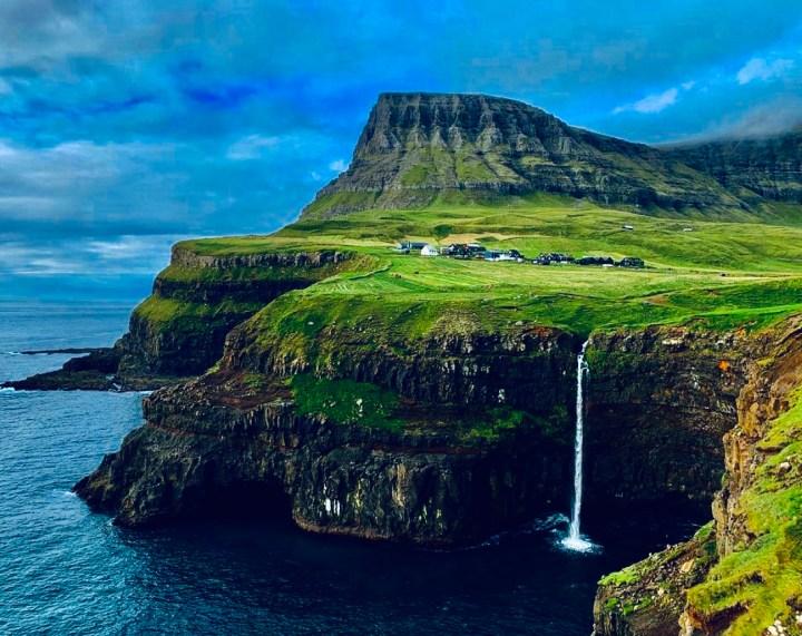 Gásadalur Isole Faroe