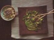 Salade de kale et choux de Bruxelles 1