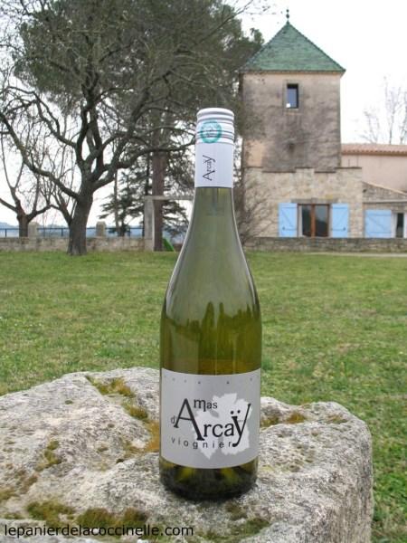 Mas d'Arcaÿ-vin-blanc-IGP-Pays-d-Oc