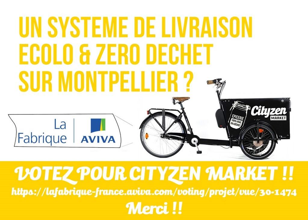 Qu'est-ce que le zéro déchet ? Echange avec la fondatrice de CityZen Market, épicerie vrac à Montpellier. Projet Fabrique Aviva. Mademoiselle Coccinelle, blog green bio ecolo