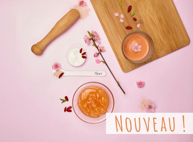 Soin Hydratant Éclat Smoothie de Fleurs chez Mademoiselle Enaelle