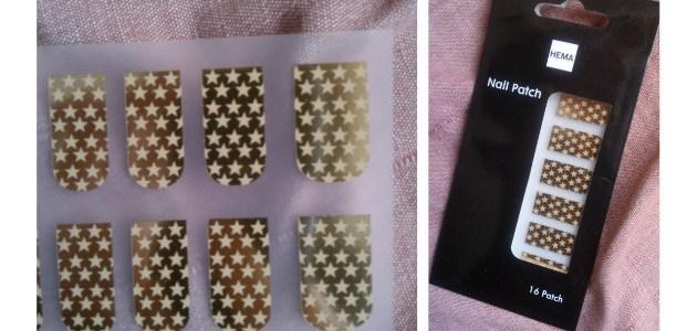 Les nail patchs Hema : la déception!!!