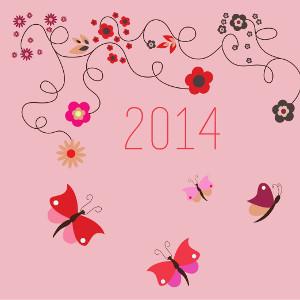Bonne année!! [Calendrier 2014 à télécharger]