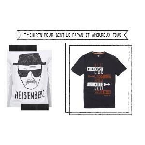Samedi shopping : t-shirts et sweats imprimés pour Monsieur