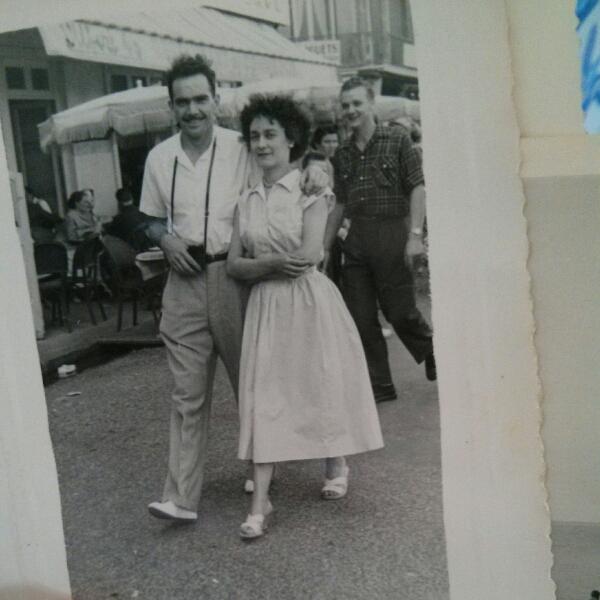 photo couple années 50