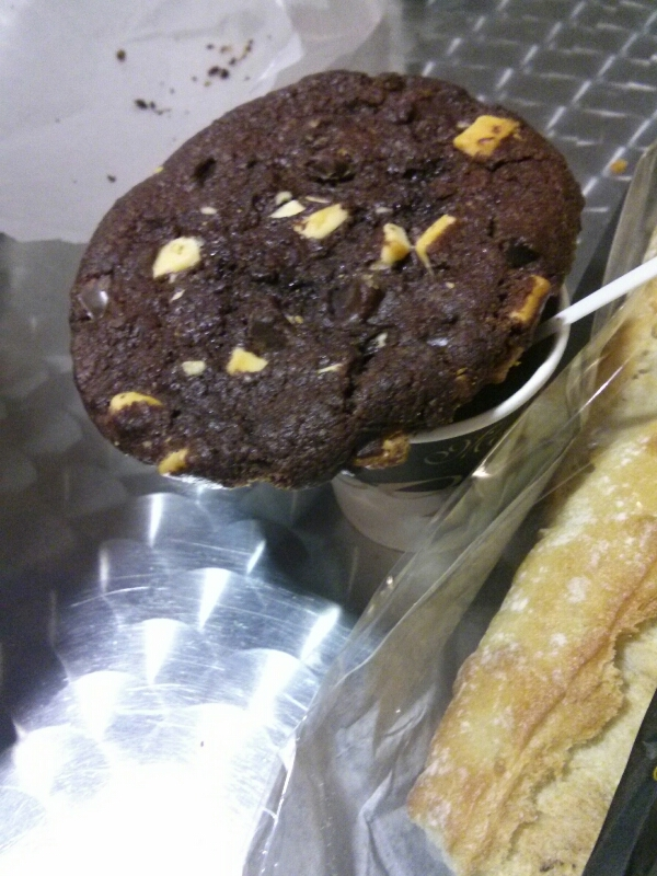 cookie double chocolat recette