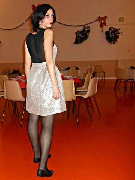 robe Mademoiselle R dorée