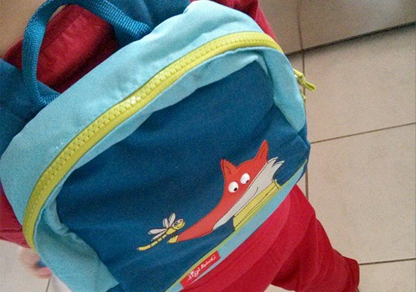 sac a dos rentrée maternelle