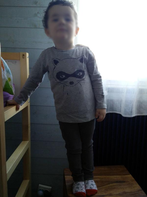 T-shirt Monoprix (old) - jegging Tape à l'oeil (bon d'achat offert)