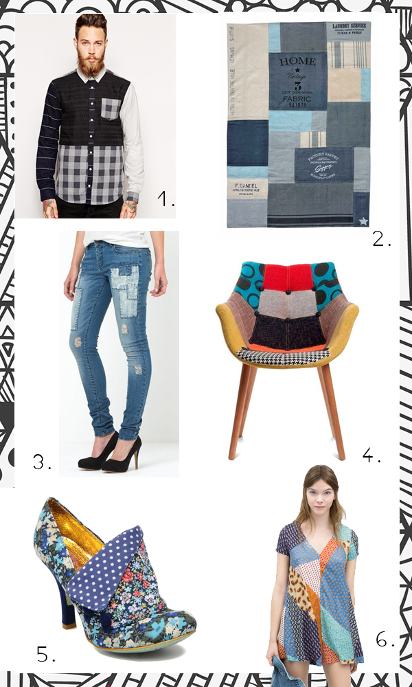 shopping patchwork