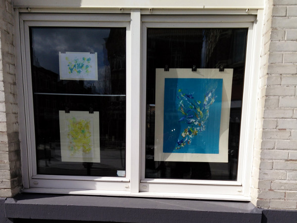 Les fenêtres qui parlent oeuvre