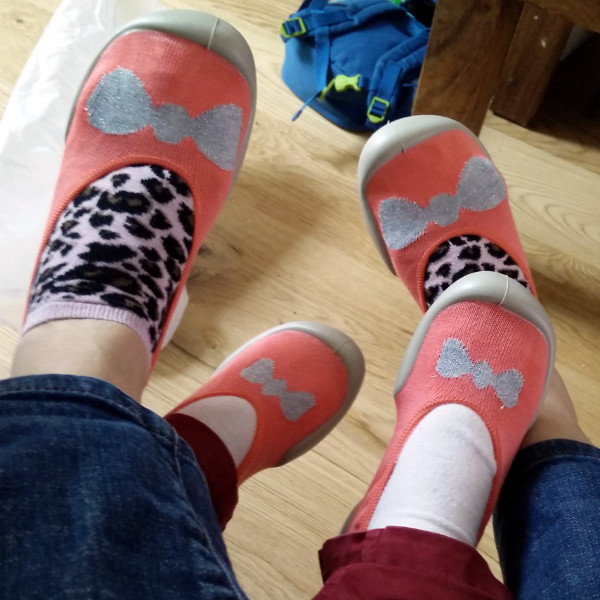 Mes chaussettes graou pas du tout Made in France c'est cadeau :p