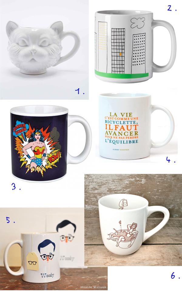 mugs sélection