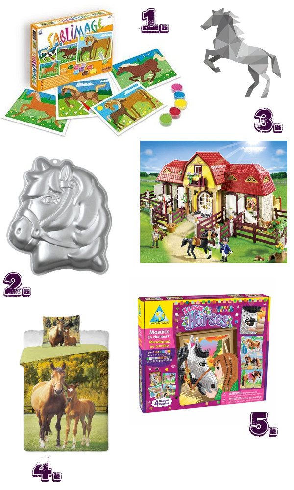 cadeau thème cheval