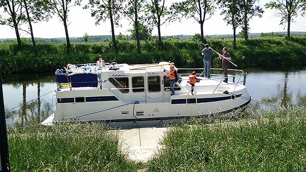 En croisière fluviale : la vie sur le bateau