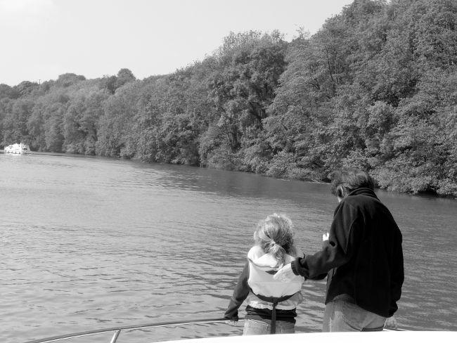 pêcher avec un enfant