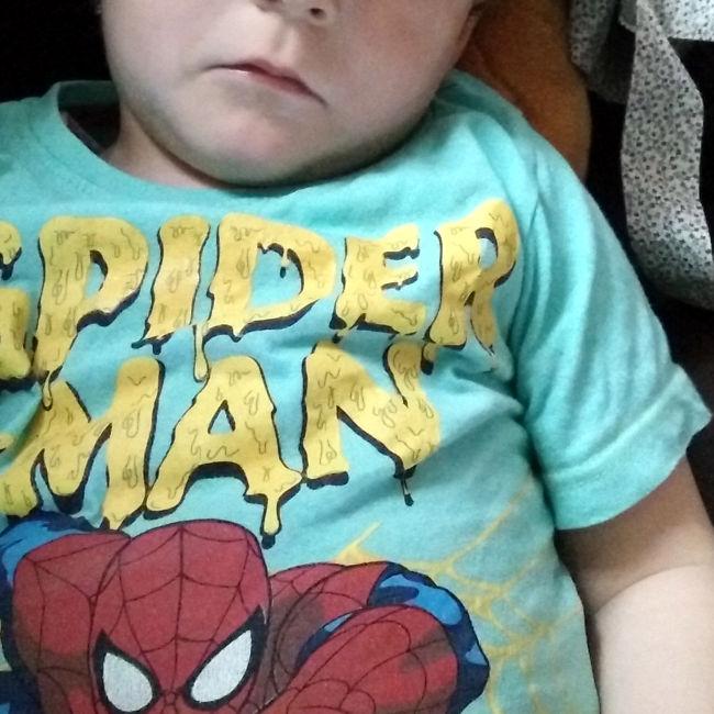 spiderman malade