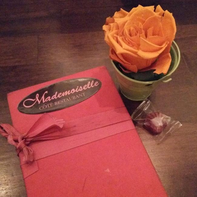 restaurant Mademoiselle Lille