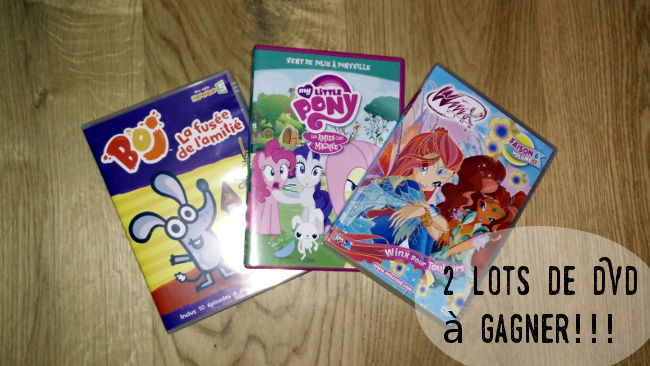 concours DVD My Little Pony
