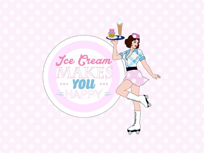 fons d'écran ice cream