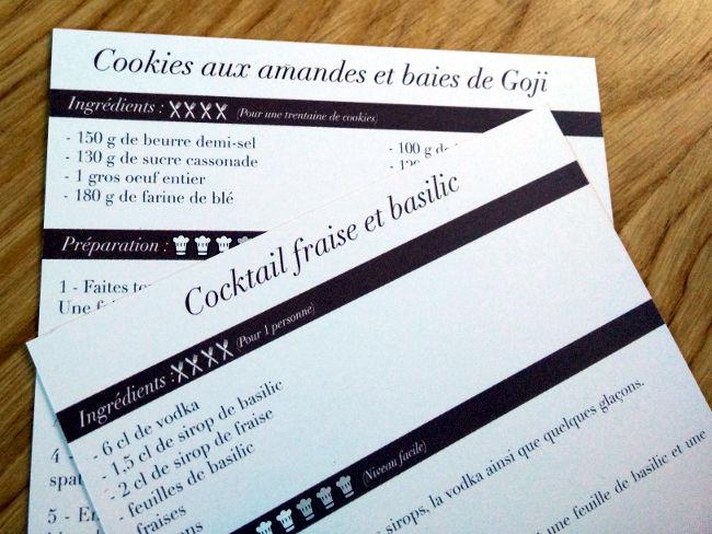 recette cookies aux baies de goji