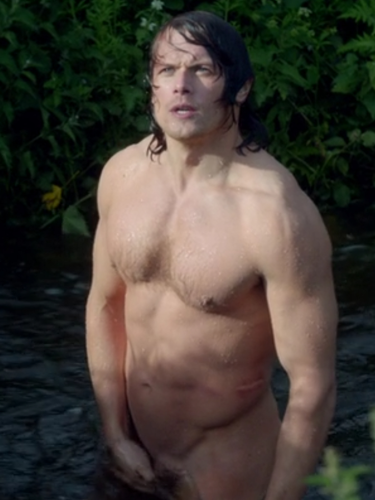 outlander jamie naked