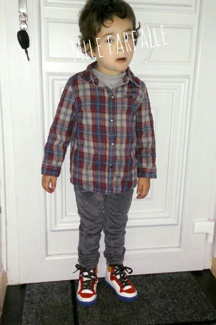 chemise bucheron garçon