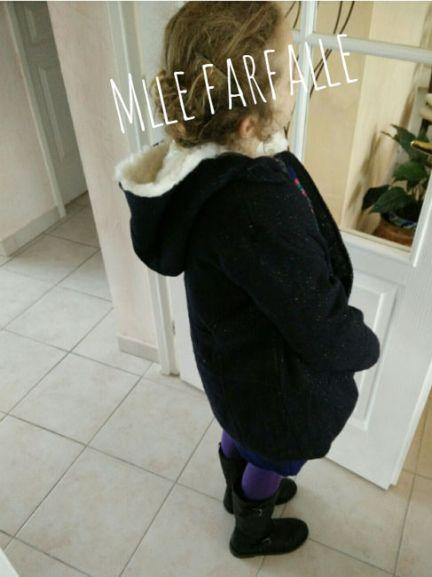 Manteau à paillettes Tape à l'Oeil