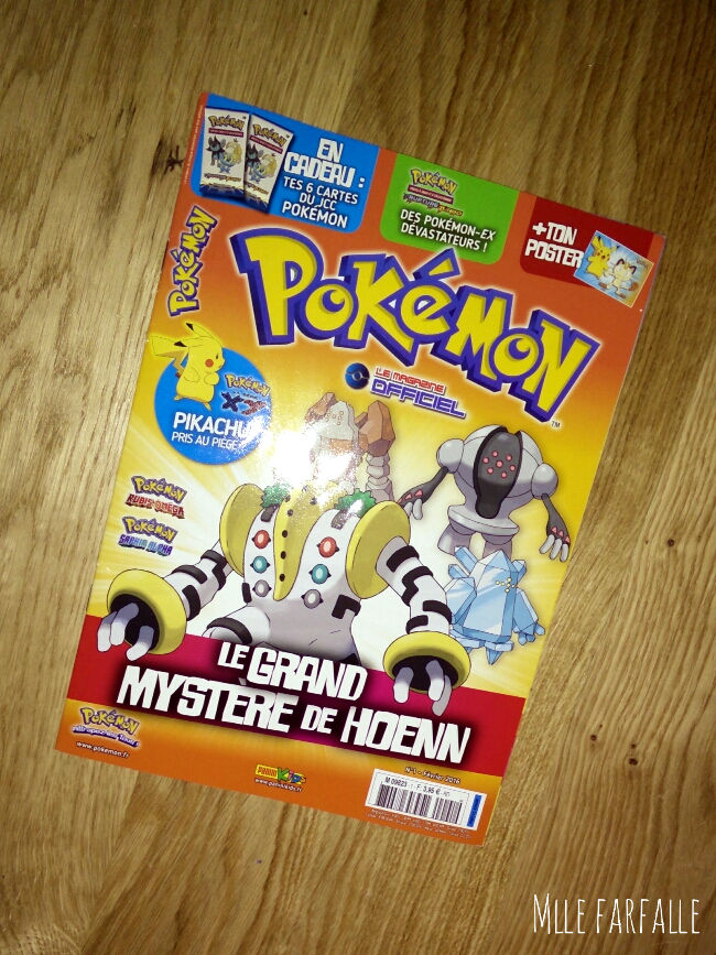 Magazine Pokemon