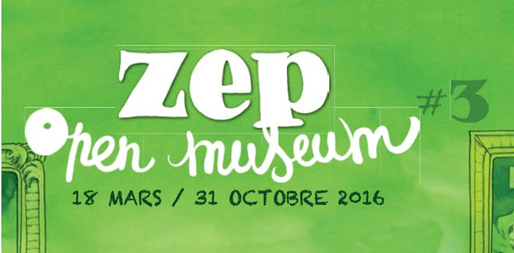Open Museum #3 Zep au Palais des Beaux Arts de Lille