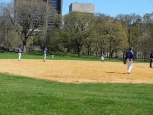 Base ball à Central Park