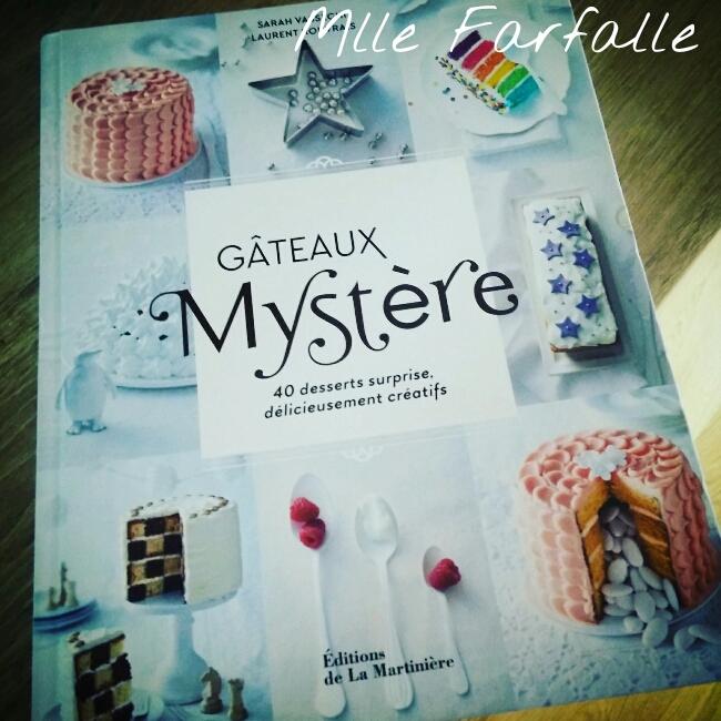 livre gâteaux mystère