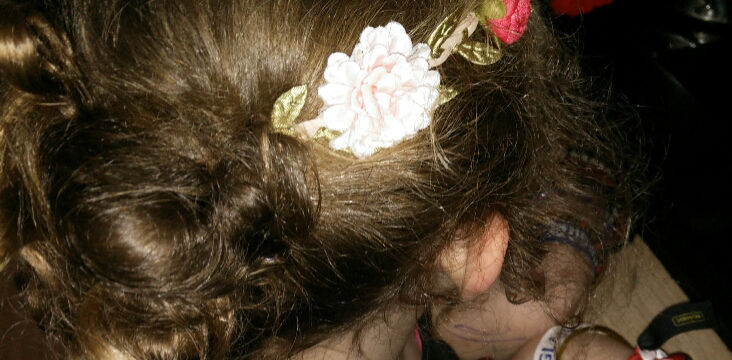 coiffure enfant headband
