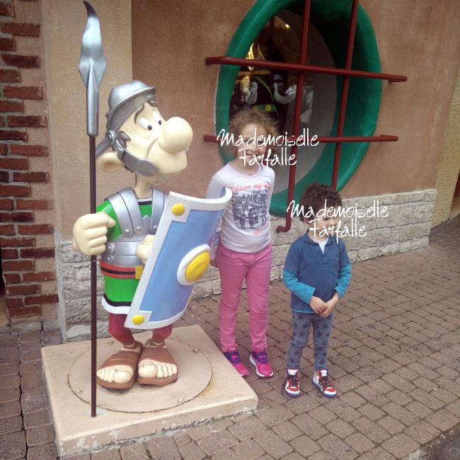 Parc Astérix en famille