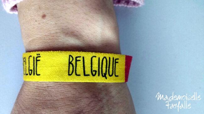 bracelet équipe belge foot