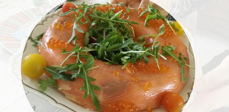 [Cuisine] La couronne de saumon de ma maman