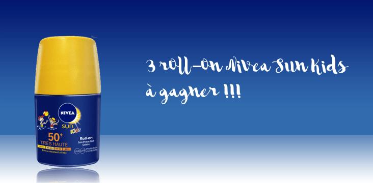 concours Nivea blog