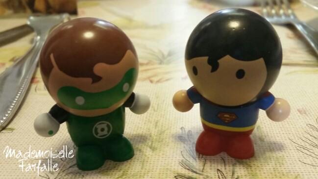 super héros supermarchés match