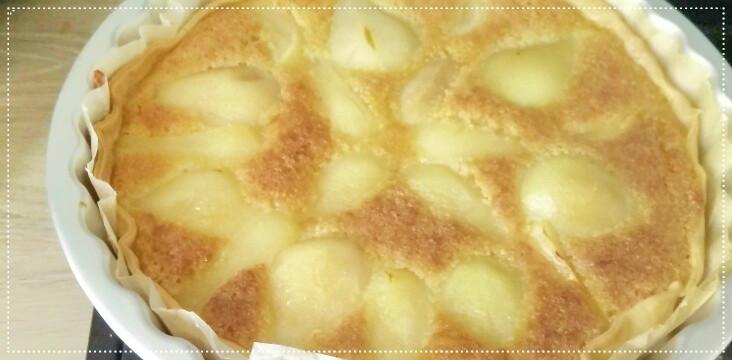 [Cuisine] La tarte Bourdaloue, c'est facile!!