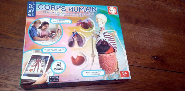 Educa Explorer : le corps humain (concours terminé)
