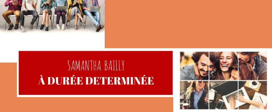 a durée déterminée samantha bailly