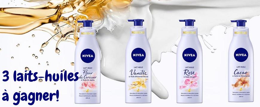 Mon avis sur les laits-huiles pour le corps de Nivea (+Concours)